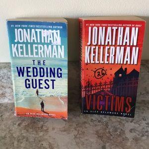 🟣5 for $15🟣2 Jonathan Kellerman paperback books